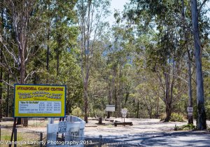 Nymboida Canoe Centre entrance