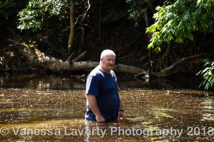 Nothing better than a cool off in the river during the heat of summer in FNQ.