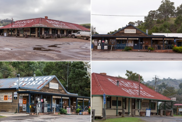 The famous Dargo Hotel - in the wet